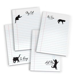 Fred & Friends Paw Pads Notepad - Set of 4