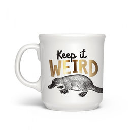 Fred & Friends Keep It Weird Mug