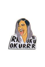 The Found Cardi B OKURRR Enamel Pin