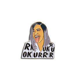 The Found Cardi B OKURRR Enamel Pin