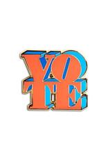 The Found VOTE Enamel Pin