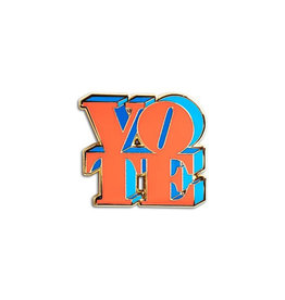 The Found VOTE Enamel Pin