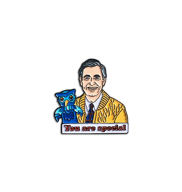 The Found You're Special Mr Rogers Enamel Pin