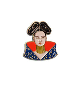 The Found Bjork Enamel Pin