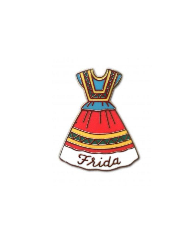 The Found Frida Dress Enamel Pin