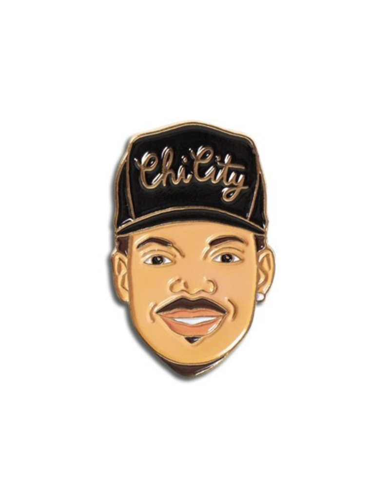 The Found Chance The Rapper Enamel Pin