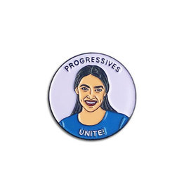 The Found Alexandria Ocasio-Cortez Enamel Pin