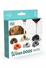 Fred & Friends Winer Dogs - Dog Wine Markers