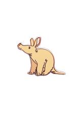 Natelle Draws Stuff Tiny Aardvark Enamel Pin