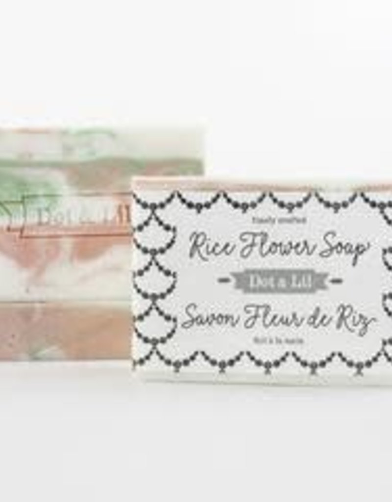 Dot & Lil Rice Flower Soap