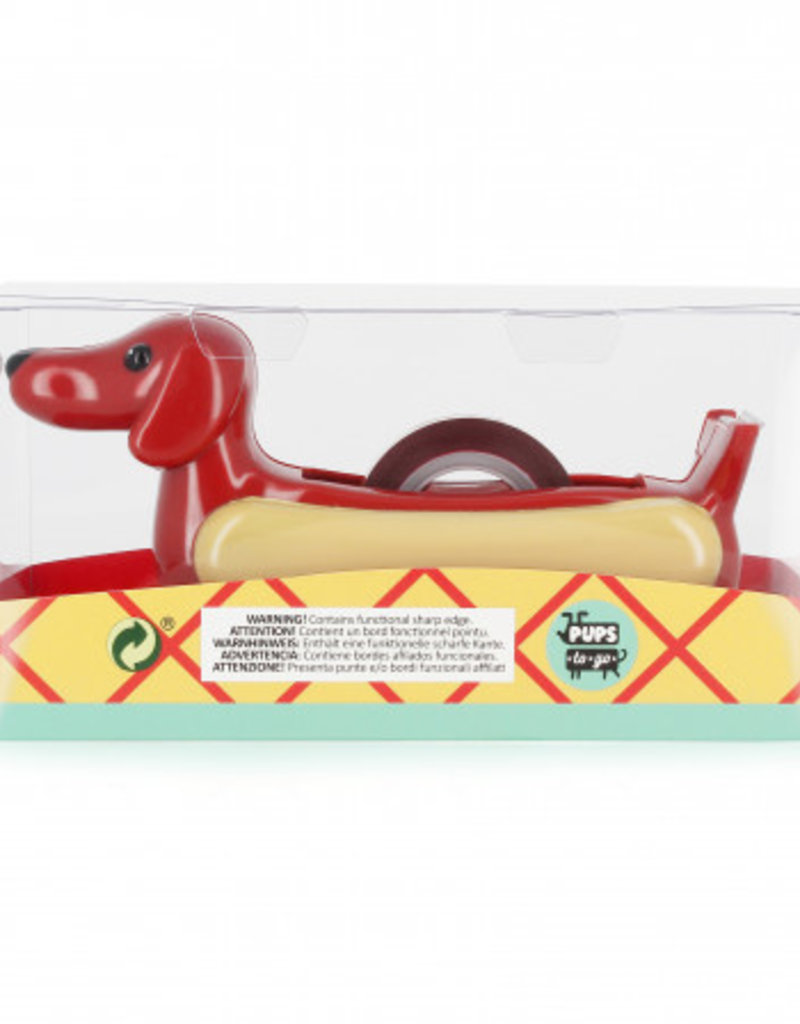 NPW Hot Dog Pup Tape Dispenser