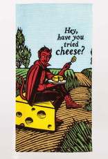 Blue Q Hey, Have You Tried Cheese Dish Towel