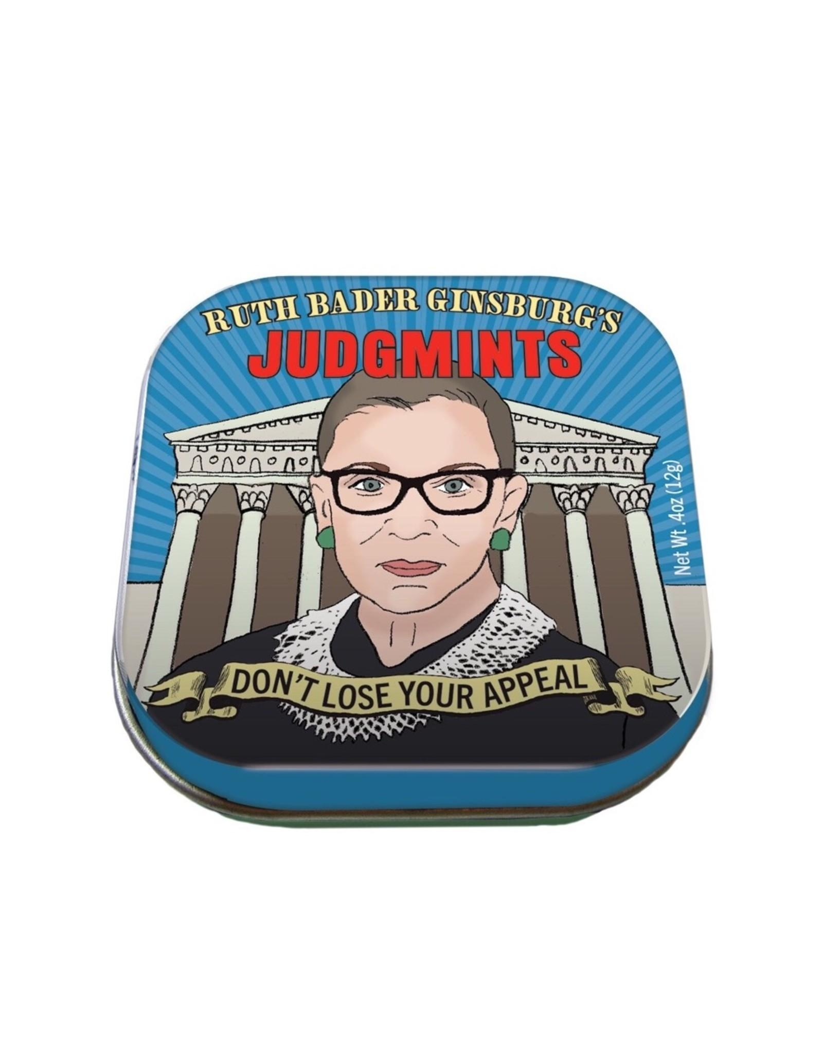 Ruth Bader Ginsburg Judgmints