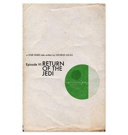 Star Wars: Return of the Jedi Movie Print