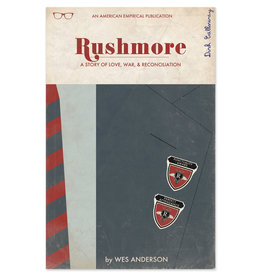 "Trevor Dunt Wes Anderson's ""Rushmore"" Movie Print"