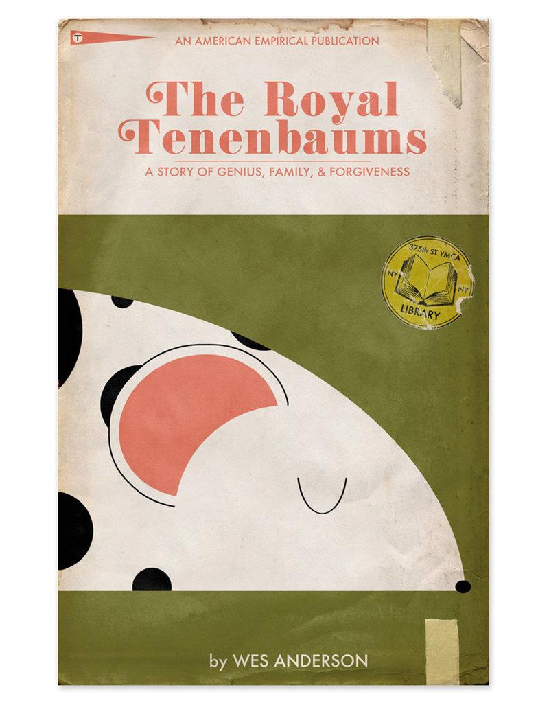 "Trevor Dunt Wes Anderson's ""The Royal Tenenbaums"" Movie Print"