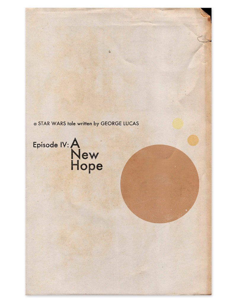 Trevor Dunt Star Wars: A New Hope Movie Print