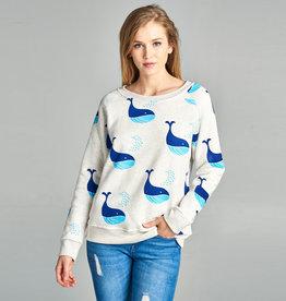 LA Soul Blue Whales Sweatshirt