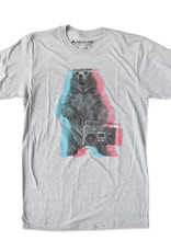 Headline Boombox Bear T-Shirt