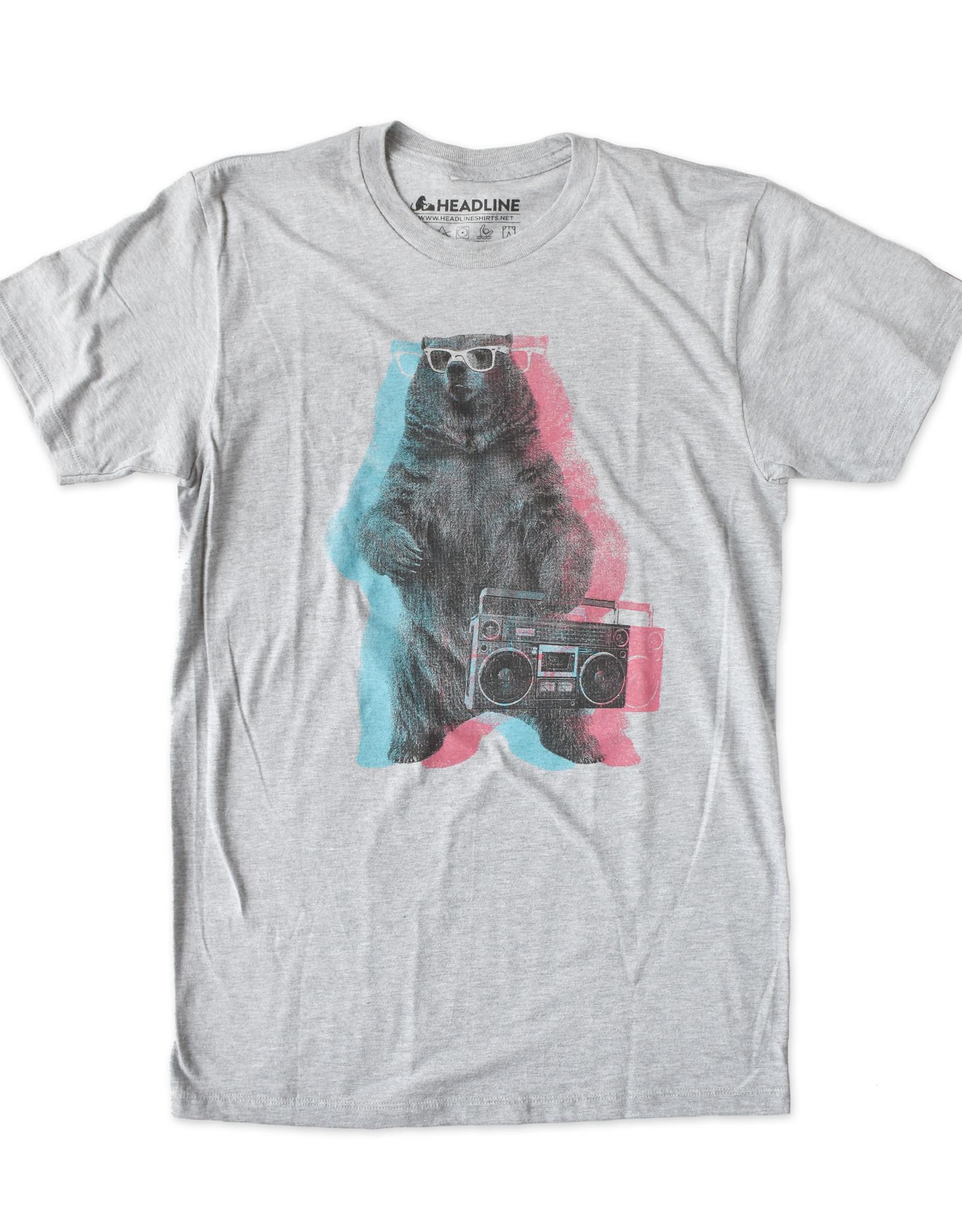 Boombox Bear T-Shirt