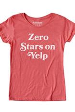 Headline Zero Stars On Yelp T-Shirt