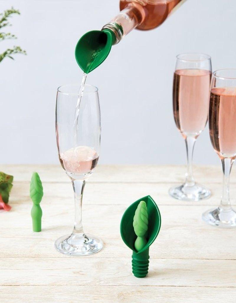 Ototo Design Leila Wine Stopper & Pourer