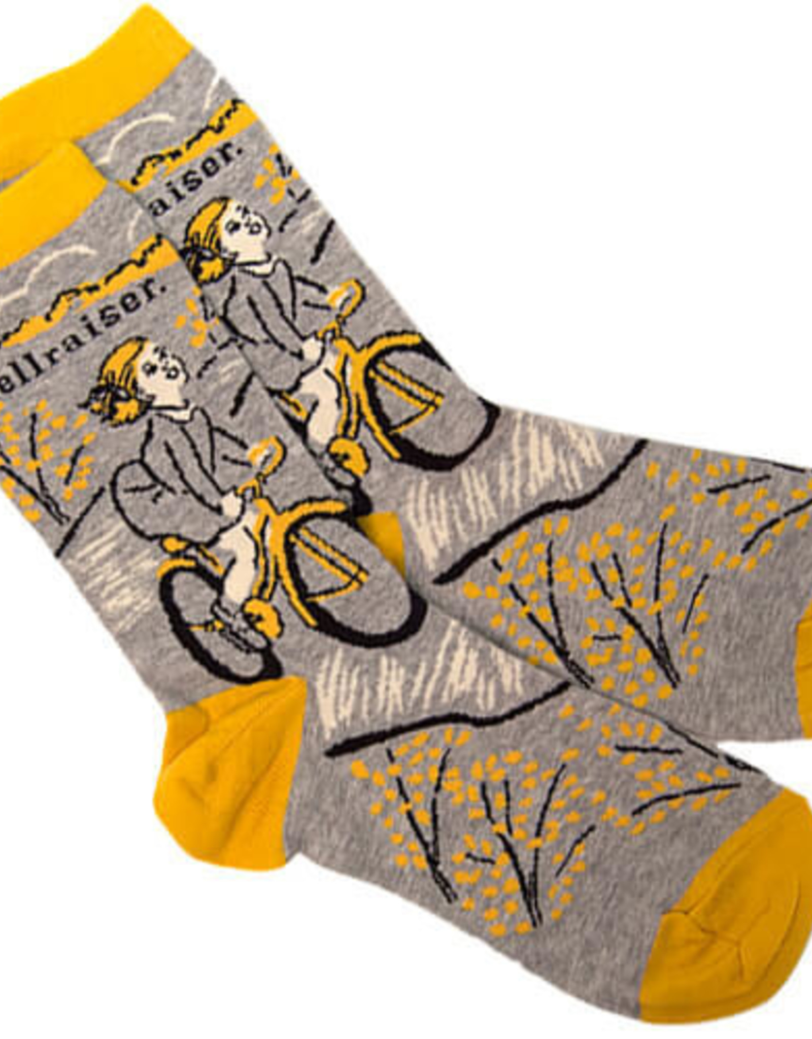 Blue Q Hellraiser Bicycle Women's Crew Socks