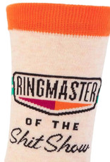 Blue Q Ringmaster of the Shit Show Women's Crew Socks