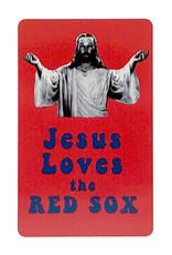 Jesus Loves the Red Sox Magnet