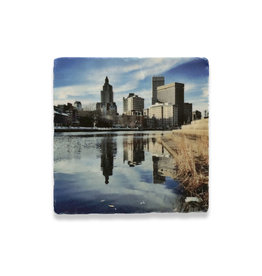 Steve Duque PVD River Steps Coaster