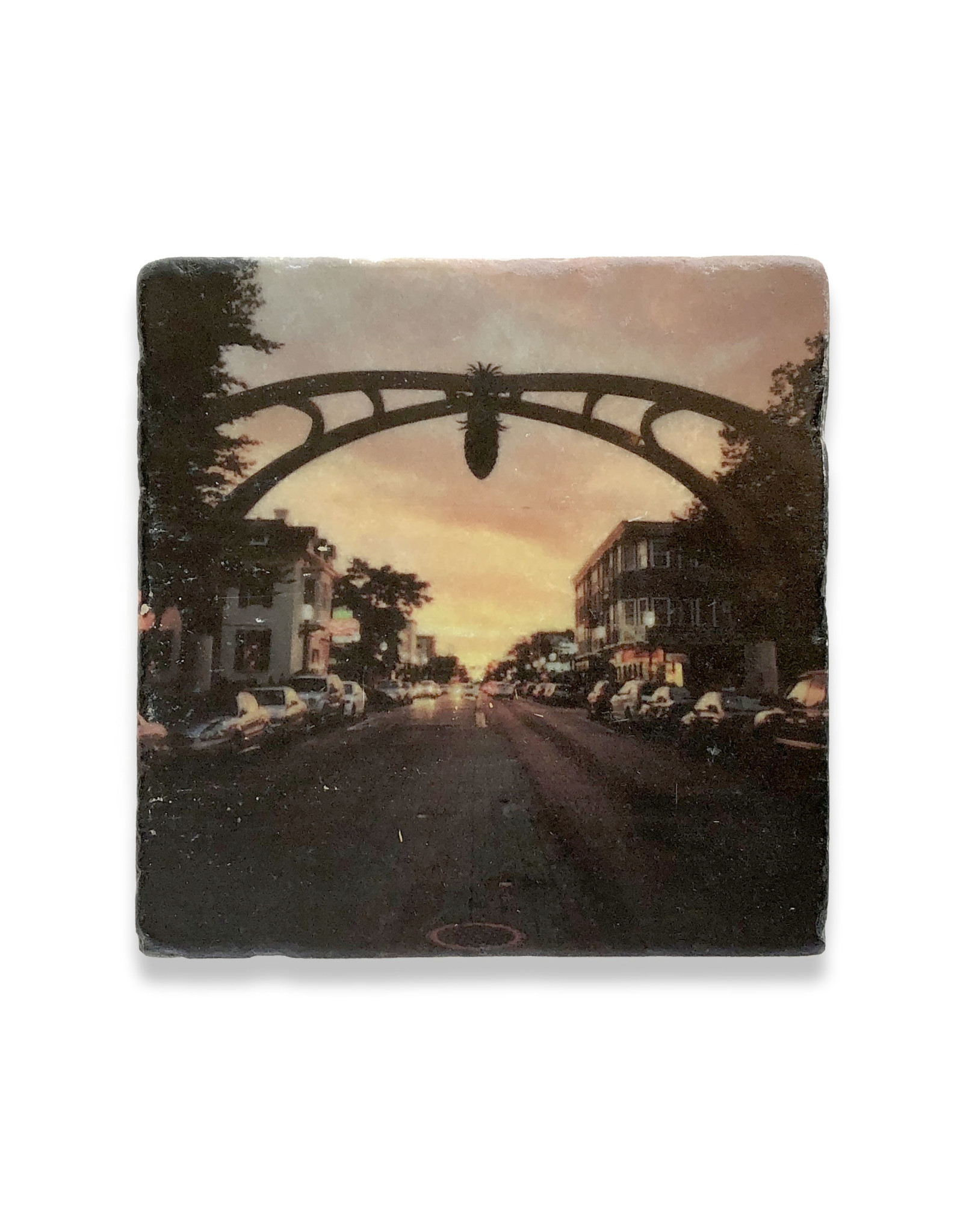 Federal Hill Pineapple Coaster