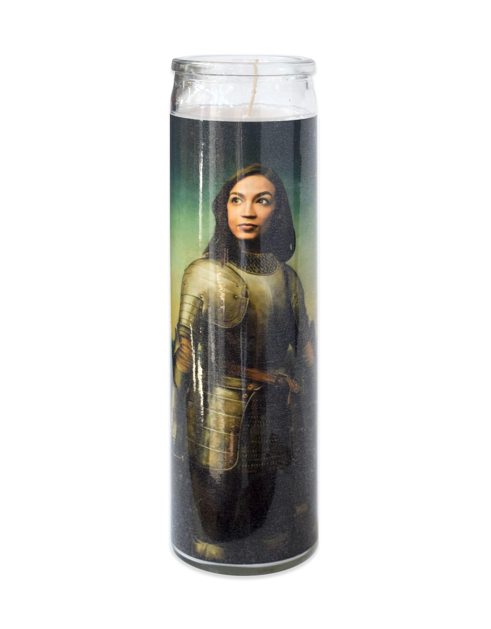 St. Alexandria Ocasio-Cortez Prayer Candle