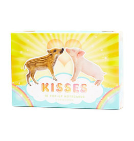 Chronicle Books Kisses Pop-Up Notecards
