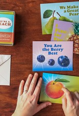 You're A Peach: 8 Scratch & Sniff Notecards