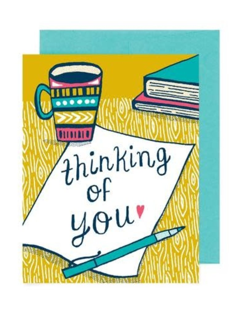 Allison Cole Thinking of You Coffee Greeting Card