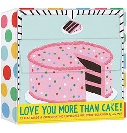 Chronicle Books Love You More Than Cake Notecards