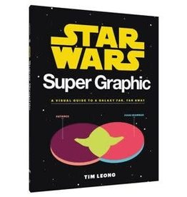 Chronicle Books Star Wars Super Graphic: A Visual Guide to a Galaxy Far, Far Away