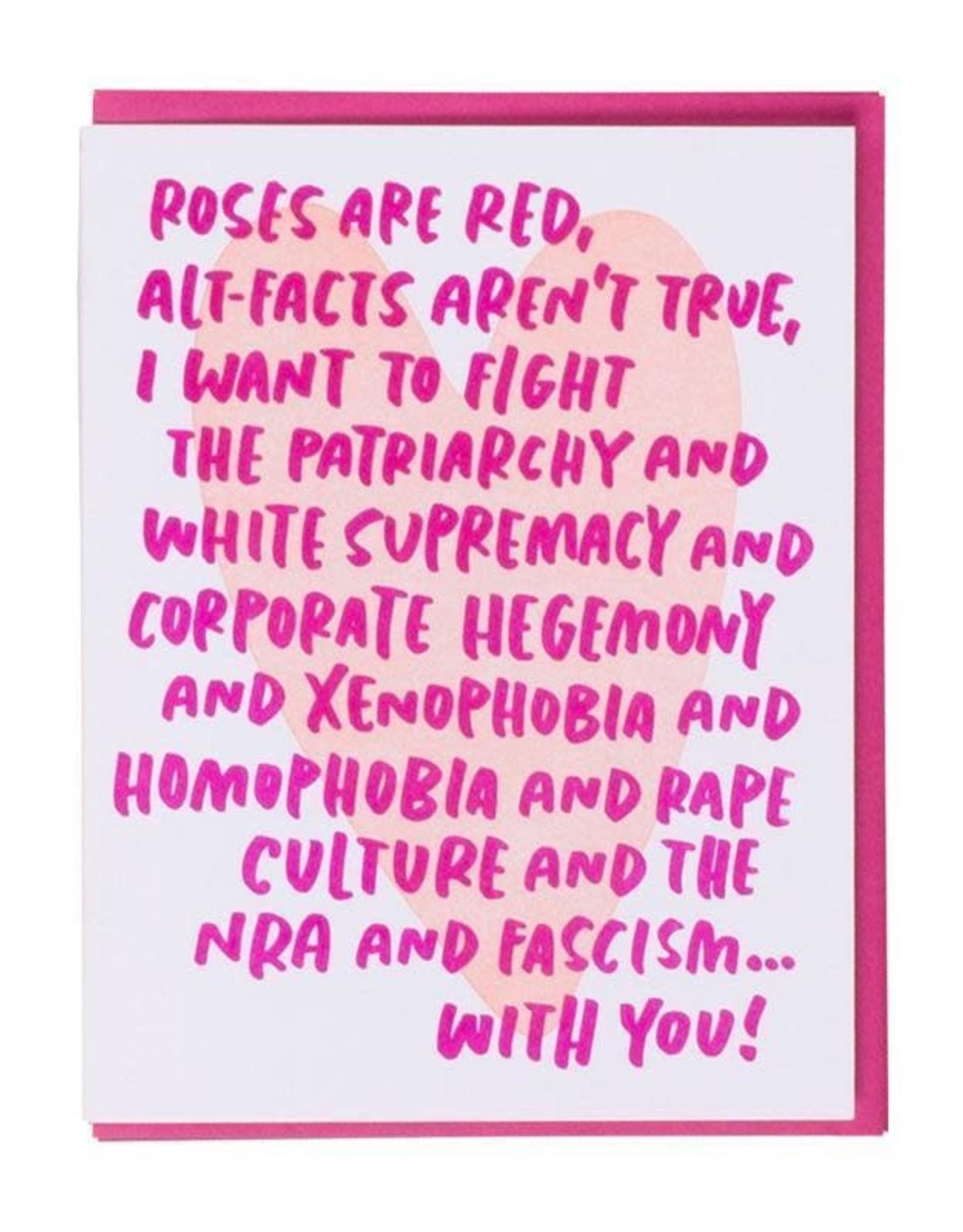 Woke Love Greeting Card