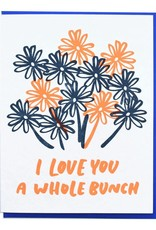 And Here We Are Love You a Whole Bunch Greeting Card