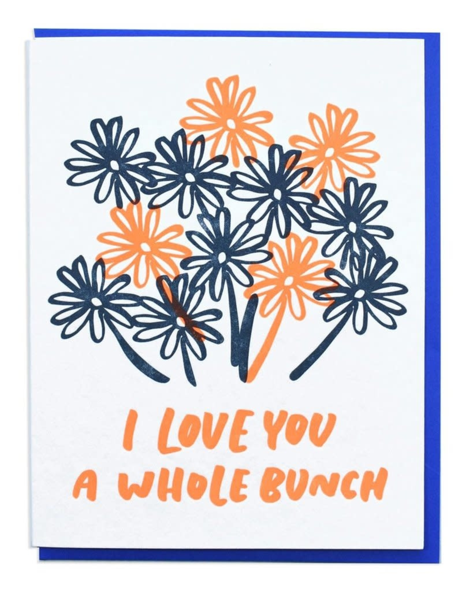 Love You a Whole Bunch Greeting Card