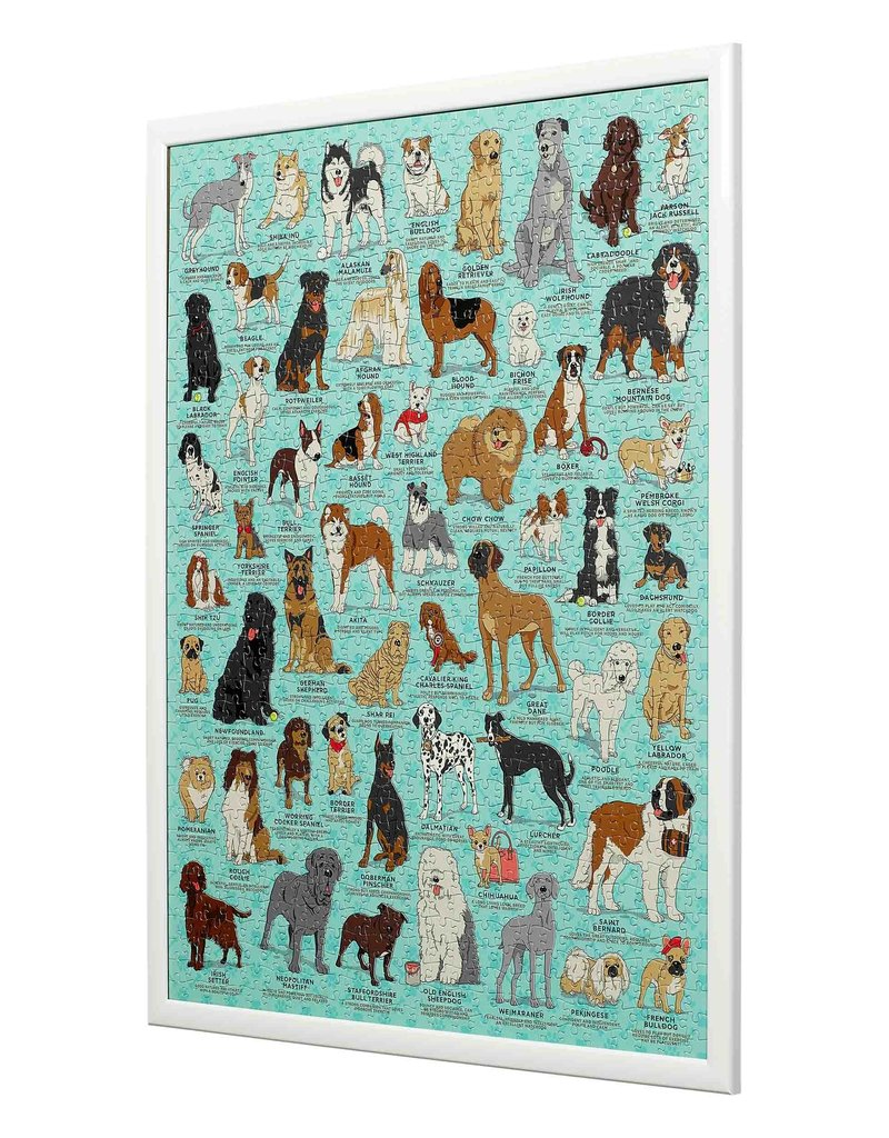 Wild and Wolf Dog Lovers 1000pc Puzzle
