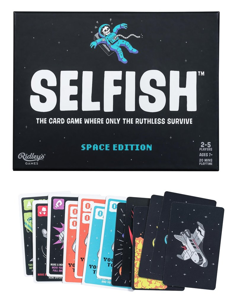 Wild and Wolf Selfish Card Game: Space Edition