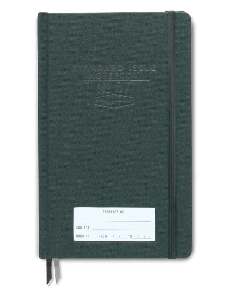 DesignWorks Ink Standard Issue Notebook No. 07 - Green