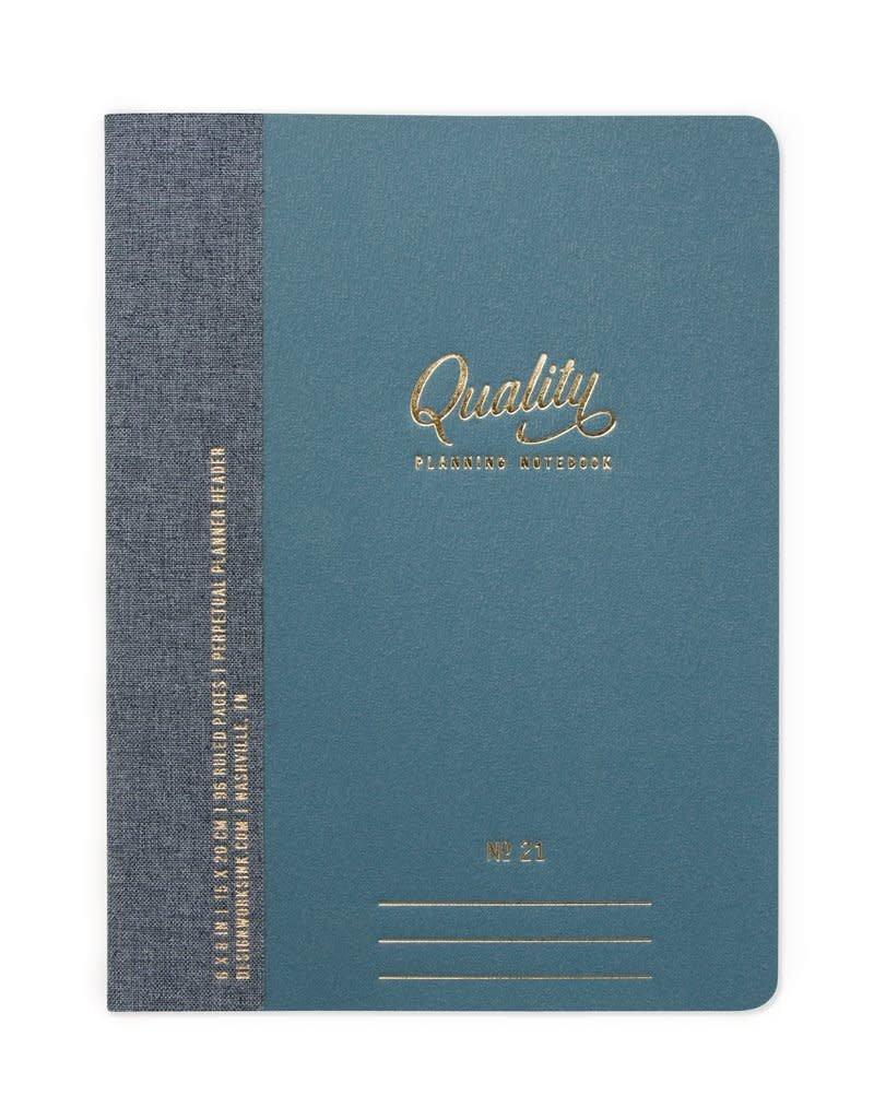 DesignWorks Ink Quality Planning Notebooks - 2 Pack