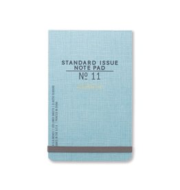 DesignWorks Ink Standard Issue Ledger Note Pad No. 11 - Light Blue