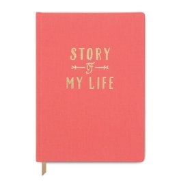 DesignWorks Ink Story Of My Life Notebook - Coral