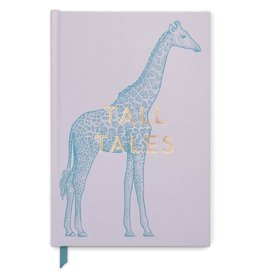 DesignWorks Ink Tall Tales Giraffe Journal - Dusty Lavender