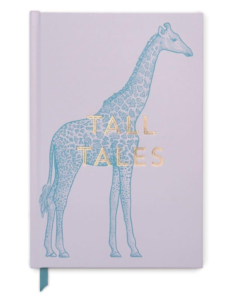 DesignWorks Ink Tall Tales Giraffe Journal - Dusty Lavender