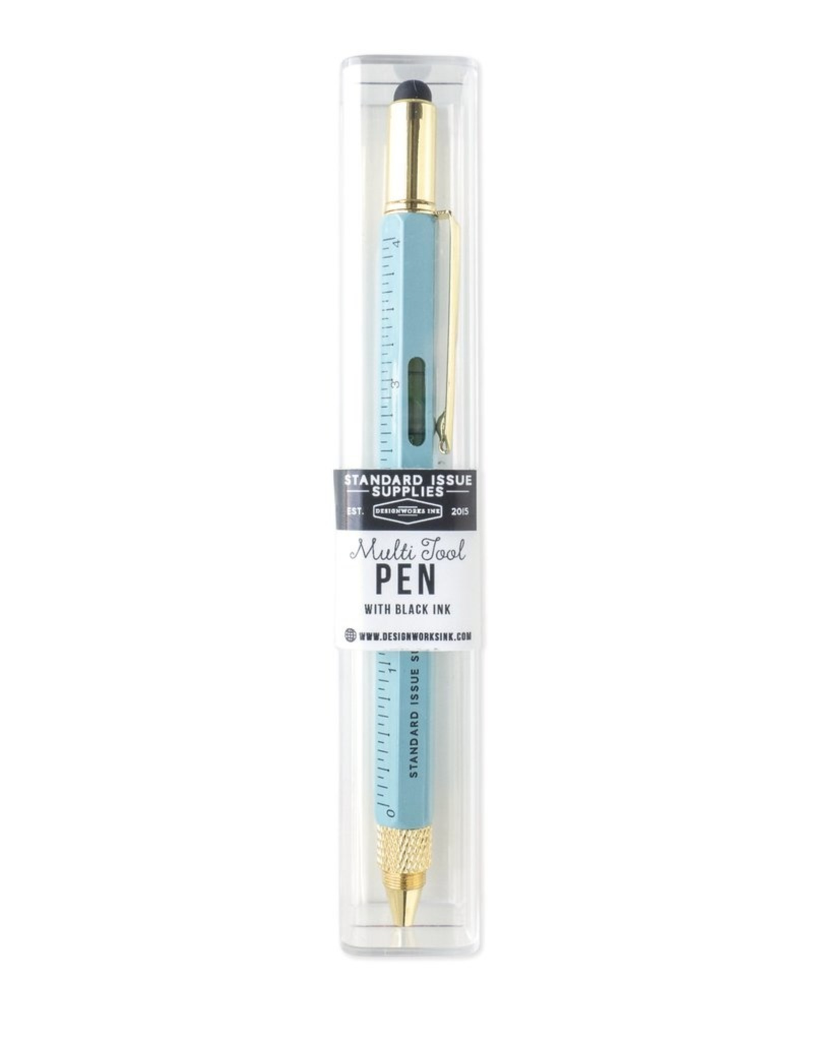 Multi-Tool Pen - Light Blue