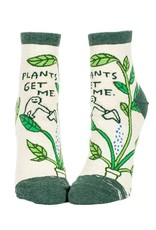 Blue Q Plants Get Me Women's Ankle Socks